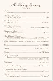 wedding programs catholic mass edwardian watermark and brown celtic leaf border wedding program