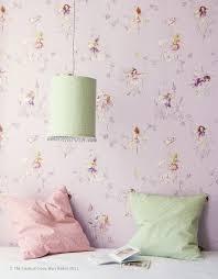 meadow flower fairies wallpaper by jane churchill pastel fairy