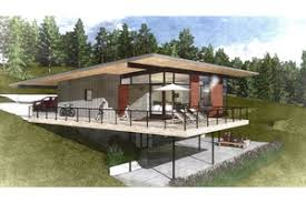 steep hillside house plans sloping lot plans houseplans com