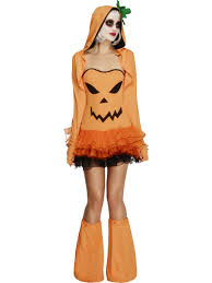 pumpkin tutu dress ladies halloween fancy dress costume sizes 6 18
