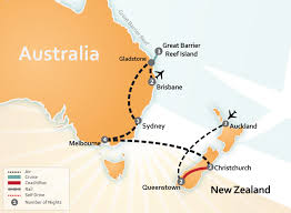 auckland australia map australia and new zealand vacation packages about australia