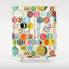 Chemistry Shower Curtains Society6 Holiday Gifts For Math Lovers The 2015 Edition