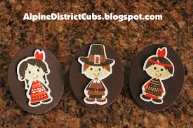 alpine district cub scouts thanksgiving pilgrim and indian