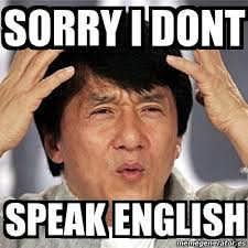 Speak English Meme - meme jackie chan sorry i dont speak english 21214583