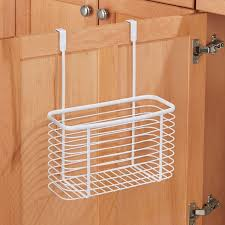 interdesign axis over the kitchen cabinet storage organizer basket