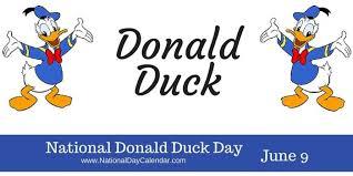 national donald duck u2013 june 9 national calendar