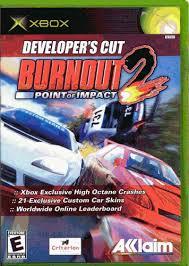 amazon com burnout 2 point of impact video games