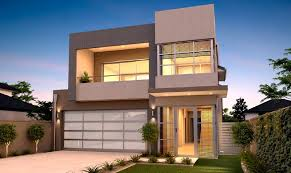 narrow home designs best modern residential single family design search