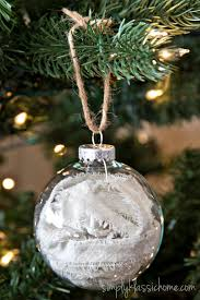 ornaments clear glass ornaments ten handmade