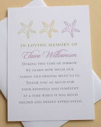 memorial service sign in book let me create a custom sympathy thank you card for you the last