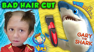chase u0027s pet shark bad hair cut from mom omg she ruined his