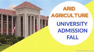 arid agriculture admission 2017 for bs ms m phil and ph d top