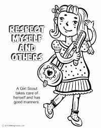 respect authority coloring pages