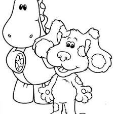draw blues clues coloring draw blues clues