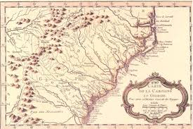 Map Of Sc And Ga Some Georgia Early Maps