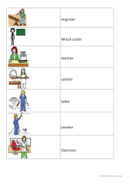 7 free esl mix and match worksheets