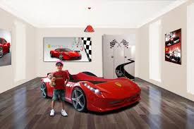 Ferrari Bed Pin By Giselle Dunn On For Kids Pinterest Car Bed And House