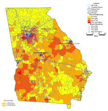 New Orleans Zip Code Map Georgia Public Schools Takeover In Maps Organization For Human