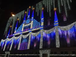 christmas light show packages saks 5th avenue christmas light show picture of the rink at