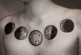 outstanding meaning of moon phase tattoos moon phases and