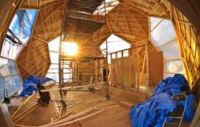 geodesic dome home interior designs caution church ahead