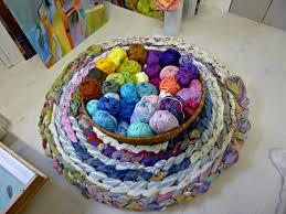 Crochet A Rag Rug Crocheted Rag Rug Art Calling