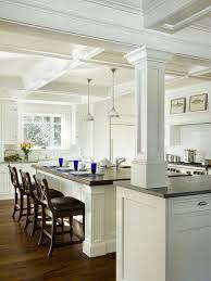 kitchen islands with columns beautiful kitchen islands with columns images home design ideas