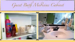 organize medicine cabinet how to organize the guest bath medicine cabinet how to organize