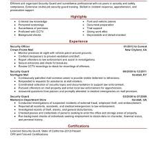 6 Sample Military To Civilian Resumes U2013 Hirepurpose by 100 Sample Resume Security Exquisite Sample Resume Security