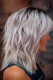cute shoulder length haircuts longer in front and shorter in back best 25 medium layered haircuts ideas on pinterest medium