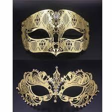 venetian masks party masks gold metal party mask phantom men women filigree