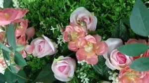 artificial flower wall vertical garden silk suitable