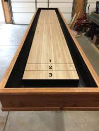 9 Foot Shuffleboard Table by How To Build A Shuffleboard Table Shuffleboard Table Basements