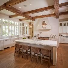 thompson custom homes kitchen pinterest kitchens beams and