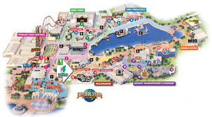 Islands Of Adventure Map Details Released On Nintendo World At Universal Studios In Orlando