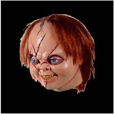 chucky mask of chucky version 2 deluxe mask officially licensed by trick