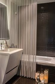 Sheer Shower Curtains 5 Steps To Make Your Small Shower Look Bigger Without Remodeling