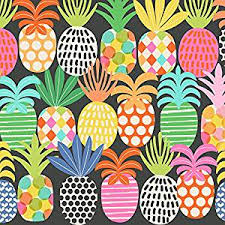 pineapple wrapping paper pineapple pop gift wrap roll 24 x 15 health