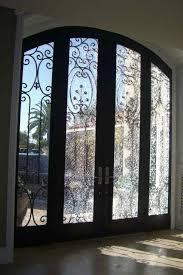 Glass Insert Doors Interior Shattered Glass Door Inserts Sans Soucie