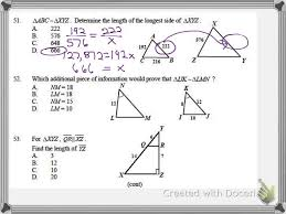 geometry 1st semester final review 2014 part 4 youtube