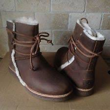 ugg womens caspia ankle boots ugg australia leather booties for ebay