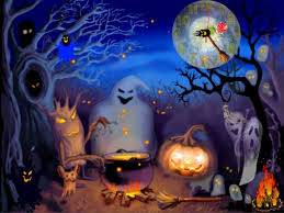 anime halloween wallpaper free wallpapers for halloween group 80