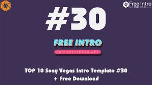 download top 10 sony vegas intro template 30 free download 2017