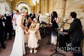 house wedding band the distance acoustic wedding band