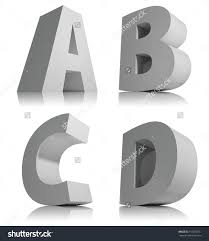3d alphabet letters template 28 images 25 best ideas about
