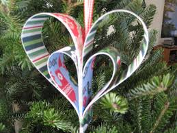 easy paper heart ornaments dianne faw