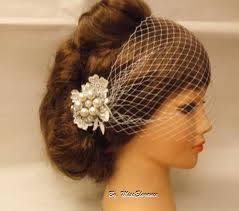 wedding hair using nets boho gatsby 1920 s style wedding lace flowercrystal pearl hair
