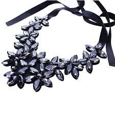 vintage crystal statement necklace images Susenstone vintage crystal necklaces pendants crystal statement jpg