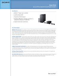 sony home theater 5 2 download free pdf for sony dav is10 home theater manual