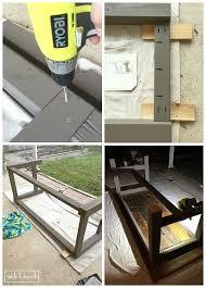 How To Build A Farmhouse Table Diy Farmhouse Dining Table With Reclaimed Wood Table And Hearth